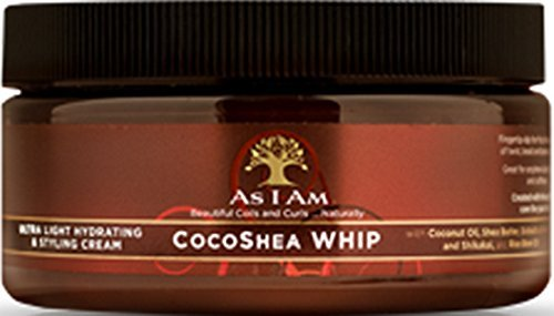 As I am Cocoa Shea Whip, 8 Ounce (Shea Whip)