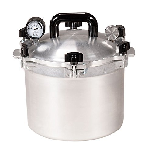 All-American 15-1/2-Quart Pressure Cooker/Canner by All American