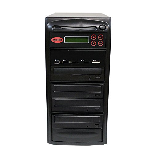SySTOR All-in-One Multi-Media Flash Memory Back-up USB/SD/CF/MS/MMC to 1-3 CD DVD Duplicator by Systor Systems
