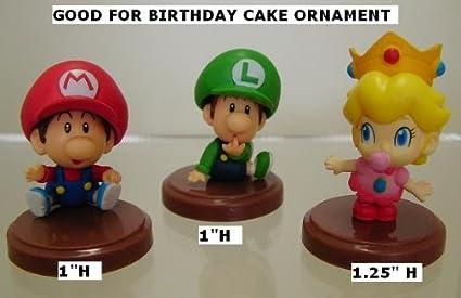Amazon.com: Furuta Super Mario Figura Tiny Mini Baby ...