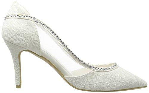Menbur Wedding Belinda, Women's Closed Pumps Ivory - Ivory
