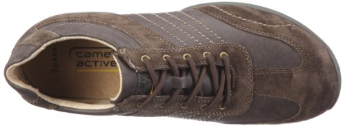 camel active Corsi, Men's Low-Top Trainers Brown (Medium Brown Suede/Synth Leather)