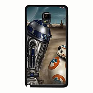 Samsung Galaxy Note 4 Case Cover Shell Magic Retro Style Fantasy Movie Star Wars Resistance Robot BB-8 Phone Case Cover New Arrival