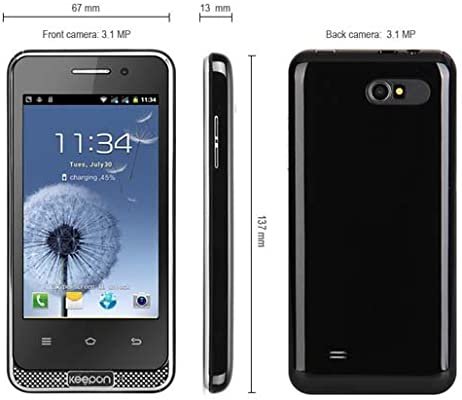 4 pulgadas A7561 Android 2.3 Smartphone MTK6515 1GHz Pantalla WVGA ...
