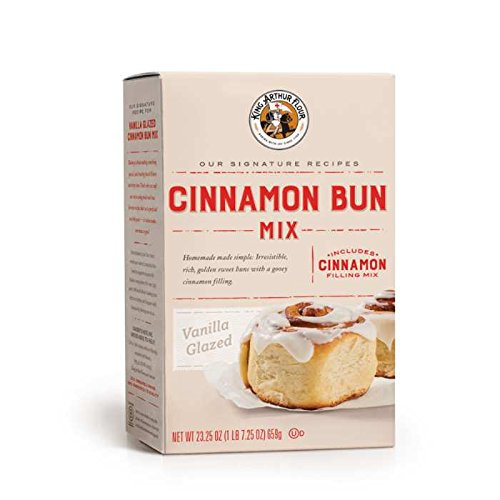 Cinnamon Sweet Rolls (King Arthur Flour Cinnamon Bun Mix (23.25 oz))