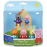 Peppa Pig 5-Figure Pack Classic Danny Dog, George, Candy Cat, Peppa & Rebecca Rabbit