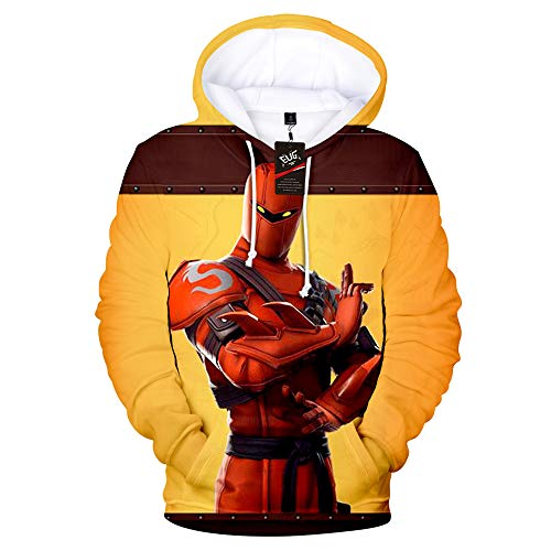- Hybrid Fortnight Hoodies for Mens Fornight Theme Shirt 3D Printed Sweatshirt Polyester S