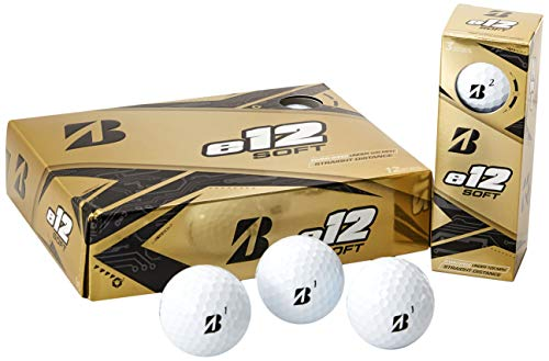 Bridgestone Golf e12 Soft Golf Balls, White (One Dozen)