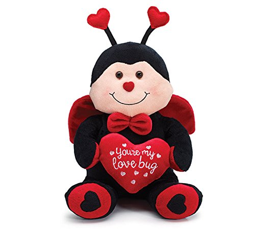 Burton and Burton You're My Love Bug Ladybug Plush, -