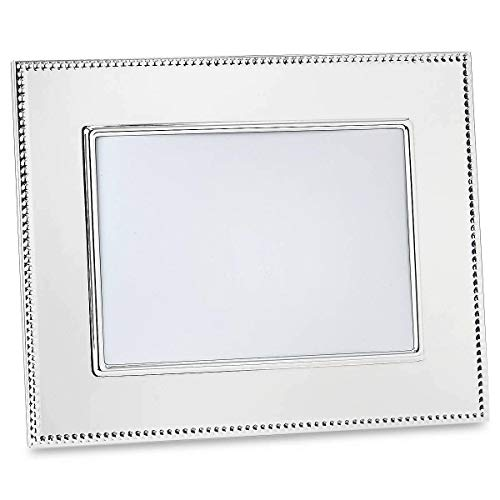 Reed & Barton Lyndon 5-by-7-Inch Silver-Plated Picture Frame