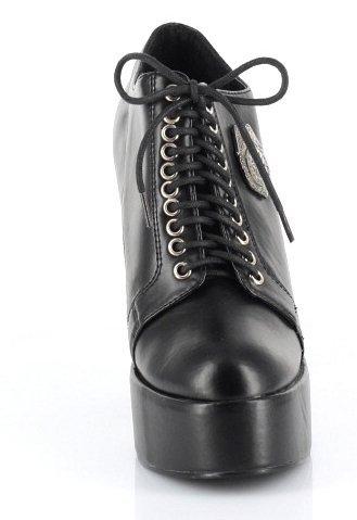 Scarpe Da Donna Ellie 557-arresto 5.5 Scarpe Oxford Della Polizia Per Halloween Nero Pu