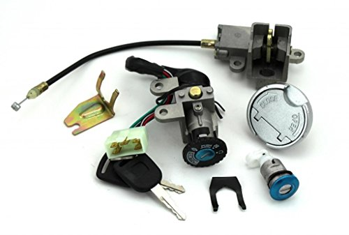 NEW Scooter Ignition Switch Key Set for TaoTao 49cc 50 cc 150cc gy6 Peace Roketa Jonway NST Tank Gy6