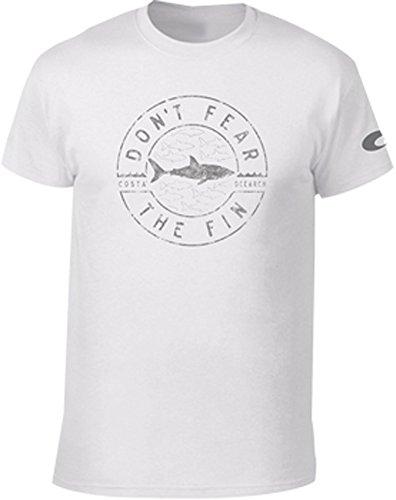 Costa Del Mar - OCEARCH Fin Short Sleeve Shirt (M, - Mar Del Top Sunglasses Costa
