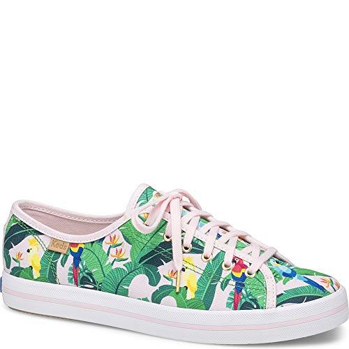 Keds Women's x SunnyLife Birds Kickstart Sneakers, Pink Multi, 6 M US