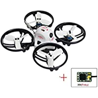 KINGKONG/LDARC ET100 PNP Brushless FPV RC Racing Drone Mini Quadcopter with XM Receiver Compatible with Frsky