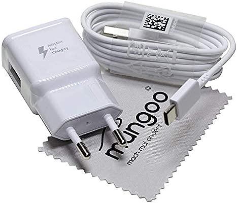 Cargador para Original Flash rápido Samsung 2A + USB Cable de tipo C Cable de carga de datos para Samsung Galaxy S9 S9+ A20 A30 A40 A50 A70 A80 M20 ...