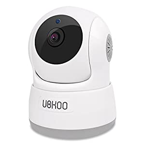 Wireless Security Camera, UOKOO 720P HD Home WiFi Wireless IP Security Surveillance Camera System with Motion Detection Pan/Tilt, 2 Way Audio and Night Vision Baby Monitor, Nanny Cam