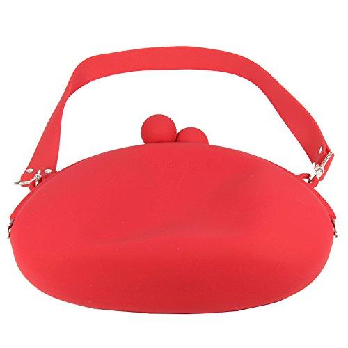 Handtasche - POCHI-BAG - in rot