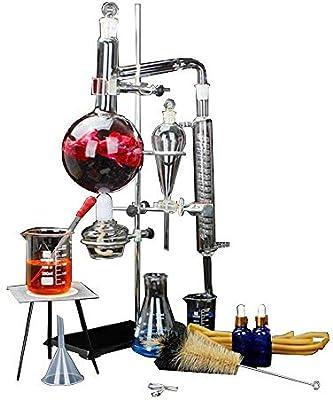 Equipo de destilación de laboratorio Purificador de destilación de ...