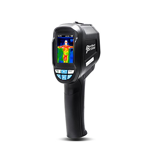 PerfectPrime IR0004, Infrared (IR) Thermal Imager & Visible Light Camera with IR Resolution 35,200 Pixels & Temperature Range from -4~572°F, 9 Hz Refresh Rate