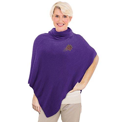 Phoenix Crystal Suns (Littlearth NBA Phoenix Suns Crystal Knit Poncho)