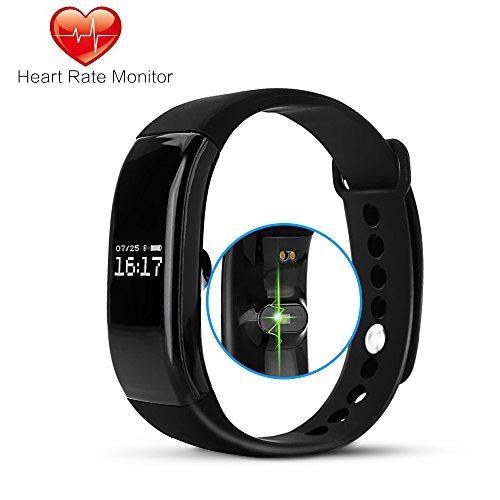 Fitness Tracker Smart Wristband Bracelet Rayhome Activity HR Monitor Pedometer and Health Sleep Calorie Counter for IOS and Android Watch Wrist Band