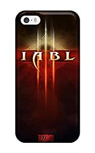 Hot Quality Case Cover With Diablo Iii Nice Appearance Compatible With Iphone 5/5s 6847451K94854624