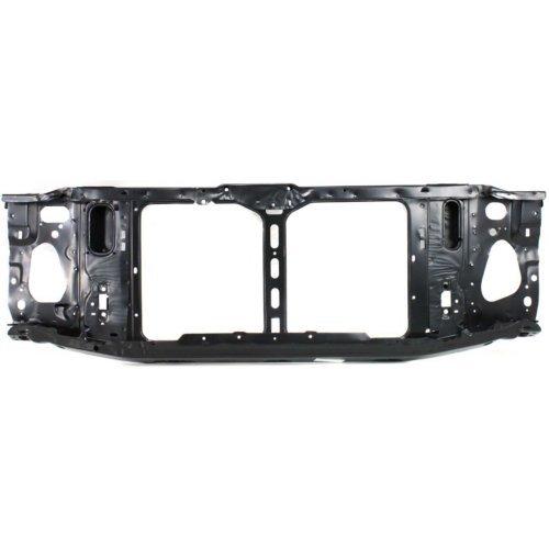 Garage-Pro Radiator Support for CHEVROLET S10 PICKUP 94-97 Assembly Black Steel