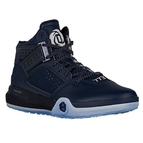 0344a57bf3f Galleon - Adidas Men s D Rose 773 IV Basketball Shoes (Navy Black White -  Size 13)