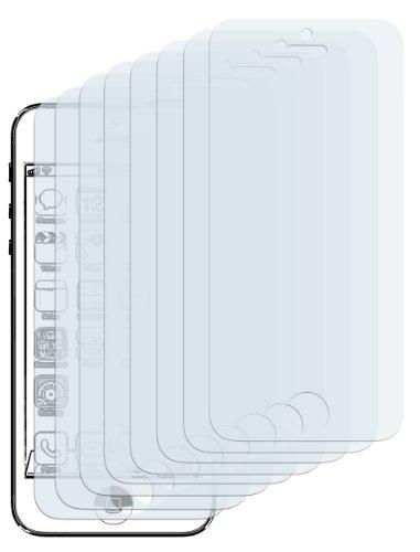 8 x Displayschutzfolie iPhone SE 5 5S 5C Displayschutz CrystalClear unsichtbar