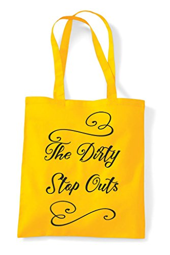 Tote Hen Party Do Customised Yellow Stop Bag Shopper Personalised Outs Dirty S0OSwqZ