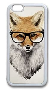 Apple Iphone 6 Case,WENJORS Awesome Mr Fox Soft Case Protective Shell Cell Phone Cover For Apple Iphone 6 (4.7 Inch) - TPU White