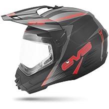 EVS Sports HT5DS-BKRD-XXL T5 DUAL VENTURE Sport Helmet