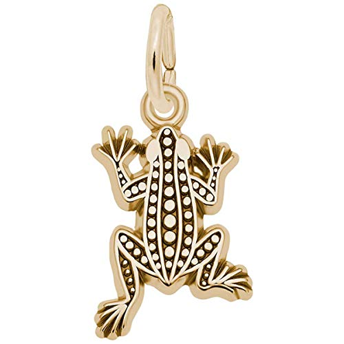 Rembrandt Charms Frog Charm, 10K Yellow - Rembrandt Charm Frog