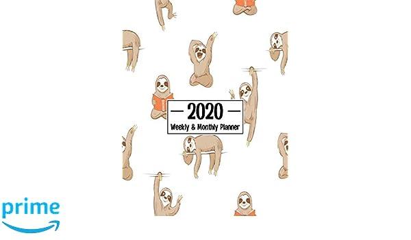 Amazon.com: 2020 Weekly & Monthly Planner: Calendar Schedule ...