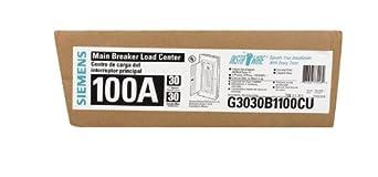 100A MainBreaker Center