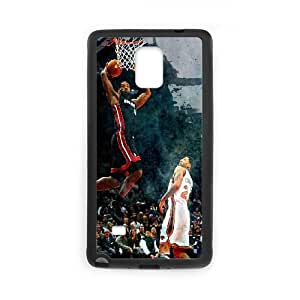 Samsung Galaxy Note 4 Cell Phone Case Black Heat Lebron James BNY_6922718