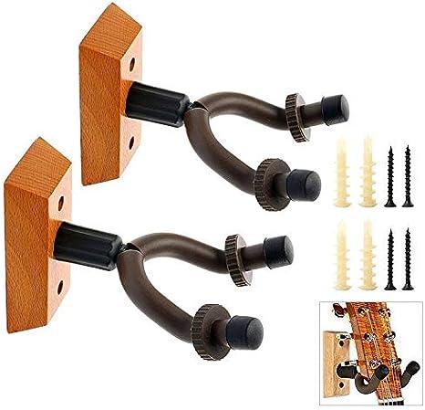 Soporte de madera para colgar guitarra, soporte de pared para ...
