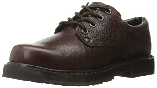 Dr. Scholl's Shoes Men's Harrington II Work Shoe, Bushwacker Brown, 11 M US