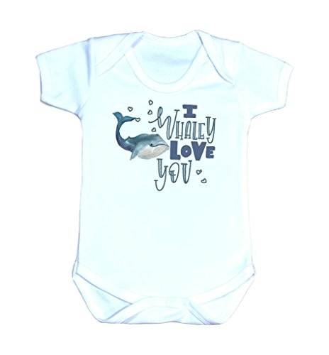 I Whaley Love You Baby Shirt Whale Baby Clothes Whale Tee Whale Lover Whale Funny Whale Baby Gift Whaley Love You Shirt (6 Months) ()