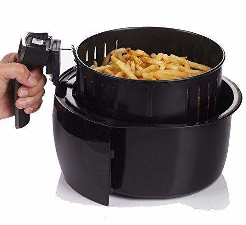 GoWISE USA GW22611 8-in-1 Electric Air Fryer with Programmable Cooking Settings