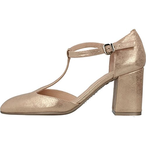 Zapatos de tac�n, color Met�lico , marca HISPANITAS, modelo Zapatos De Tac�n HISPANITAS MAGIC-V7 Met�lico Met�lico