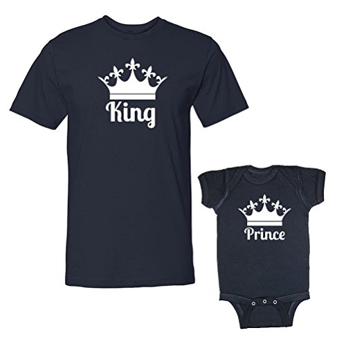 Son/Daughter of a King Couple Shirt (White) - 2