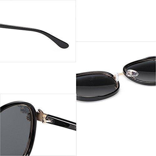 lunettes soleil femmes de classiques soleil haute GAOLIXIA lunettes qualité protection polarisées de de métal pare et ronde uv400 soleil Violet Mode hommes wBxZ7p