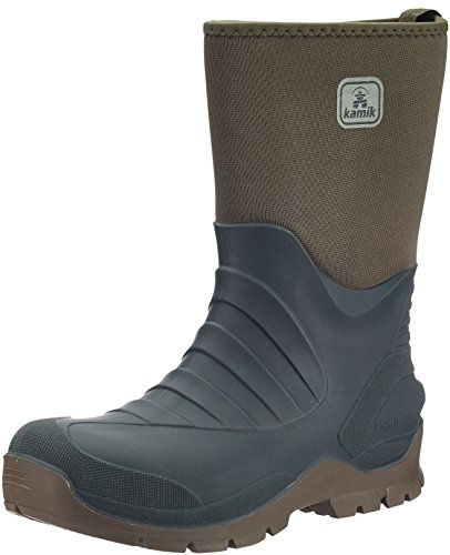 Kamik Men's Shelter Snow Boot,Olive,10 M US for sale  Delivered anywhere in Canada