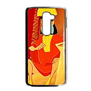 LG G2 Cell Phone Case Black Disney The Emperor's New Groove Character Kuzco 004 UN7150356