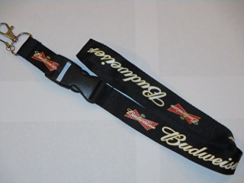 lanyard-budweiser-beer-key-chain-holder-us-seller-fast-shipping