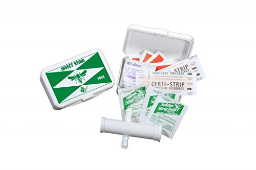 Certified Safety K216-024 785X Insect Sting Kit in Poly Box