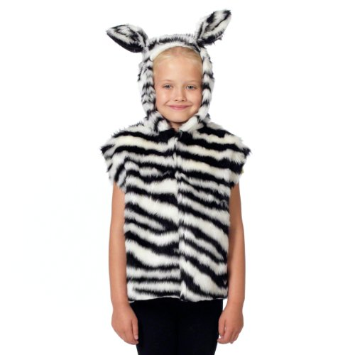 Costume Zecora (Zebra Costume for kids. One Size 3-9)