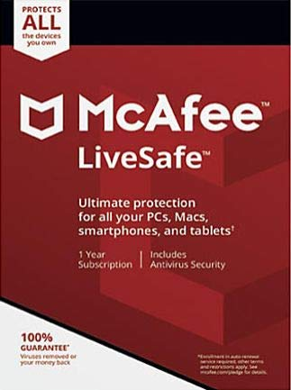 McAfee LiveSafe Ultimate Protection for Unlimited Devices [Activation Code Only] by McAfee
